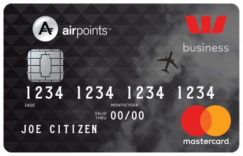 Westpac Airpoints™ Business Mastercard®